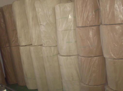 不織布、工場、ナイロン、布