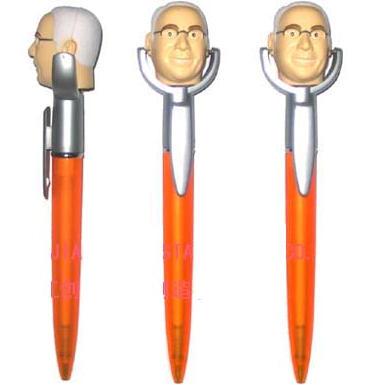 ボールペン、ABS、フィギュア付きボールペン、オリジナル製作、ノベルティー、ギフト、礼品