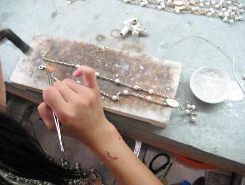 シルバー925、女性用、ピアス、ネックレス、ペンダントトップ、ブレスレット、リング、オリジナル製作