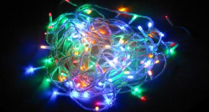 クリスマスイルミネーション LED照明 発光ダイオード